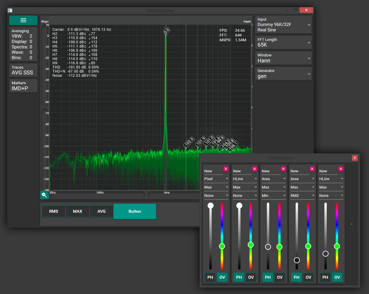 Software Spectrum Analyzer SA01 — XDXD Solutions